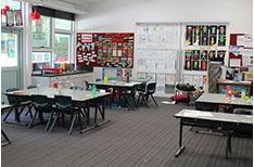 School Corridors red room