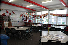 Majura Primary School Corridors Red room