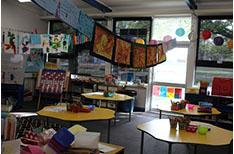 School Corridors: Blue Kindy room